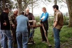 Events - Making a Pole Lathe